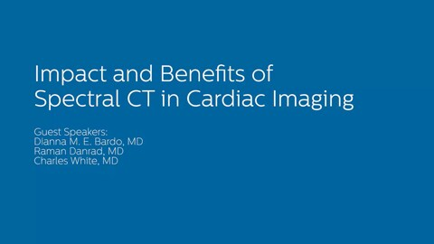 Impact of Spectral CT in Coronay assessment & Outcomes
