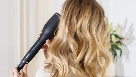 philips wedding hair bare minds stylecare auto curler