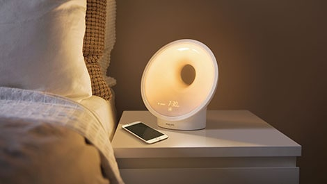 Optimale Schlafbedingungen: Philips Somneo Connected Sleep & Wake-up Light mit SleepMapper-App