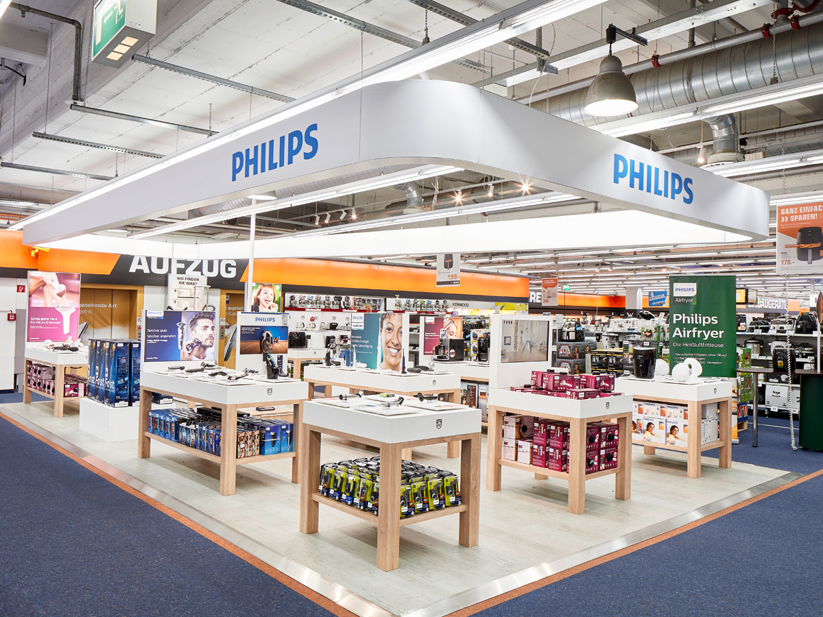 Philips Shop In Shop Bei Saturn News Center Philips