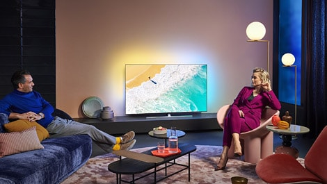 Philips TV OLED855 - Lifestyle