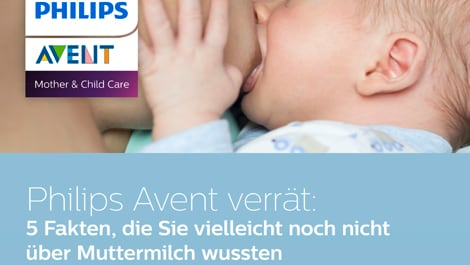 philips themensheet Muttermilchfakten