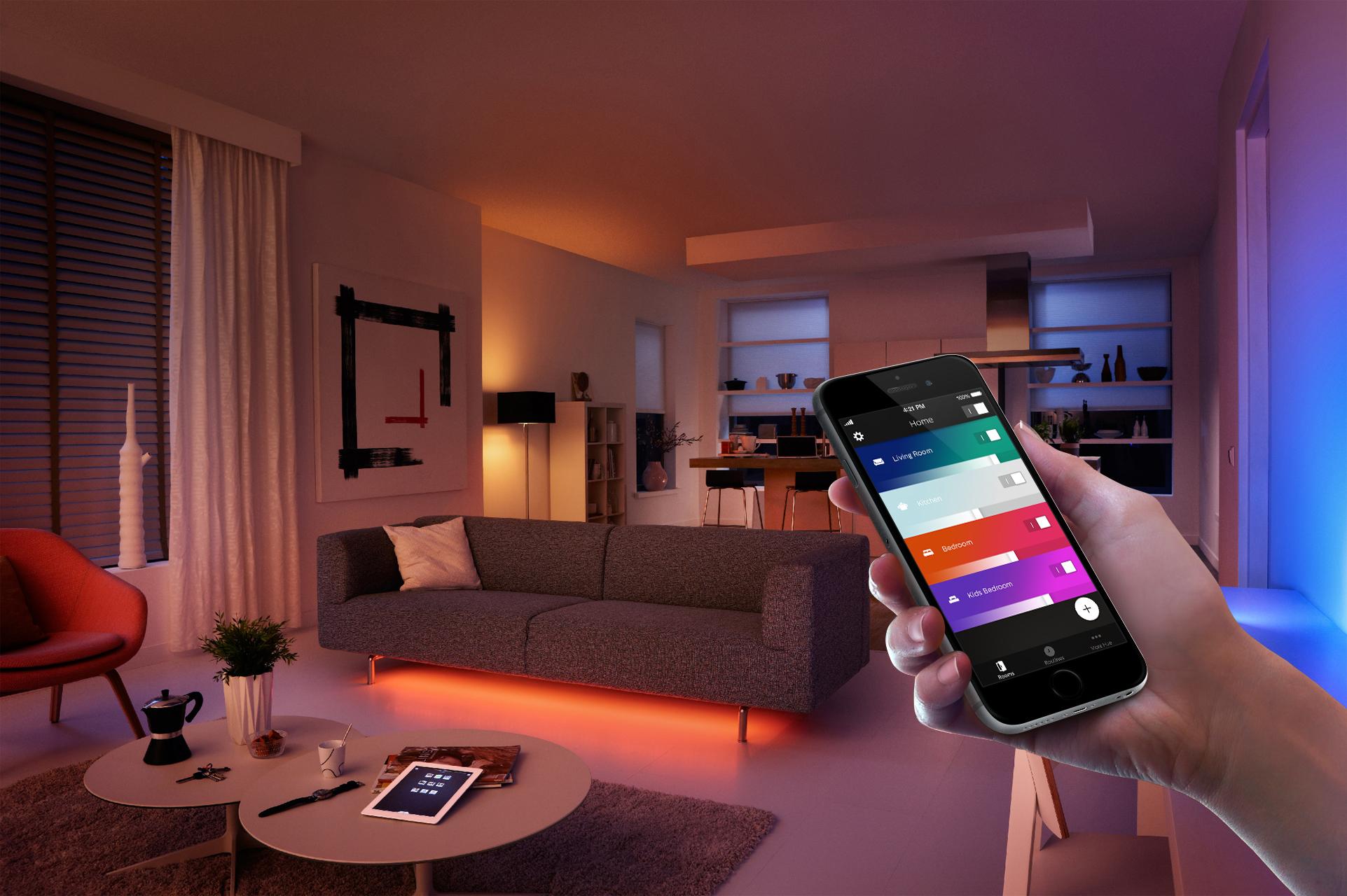 Starten Philips Hue : Neue philips hue app macht beleuchtung intelligenter news center