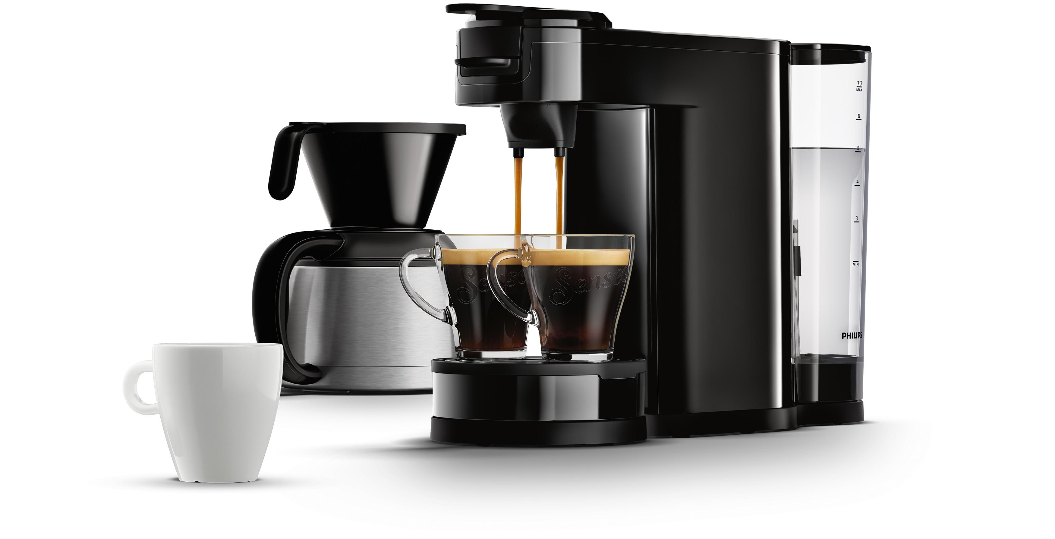 die erste 2 in 1 kaffeemaschine senseo switch f r filterkaffee und pads news center philips. Black Bedroom Furniture Sets. Home Design Ideas