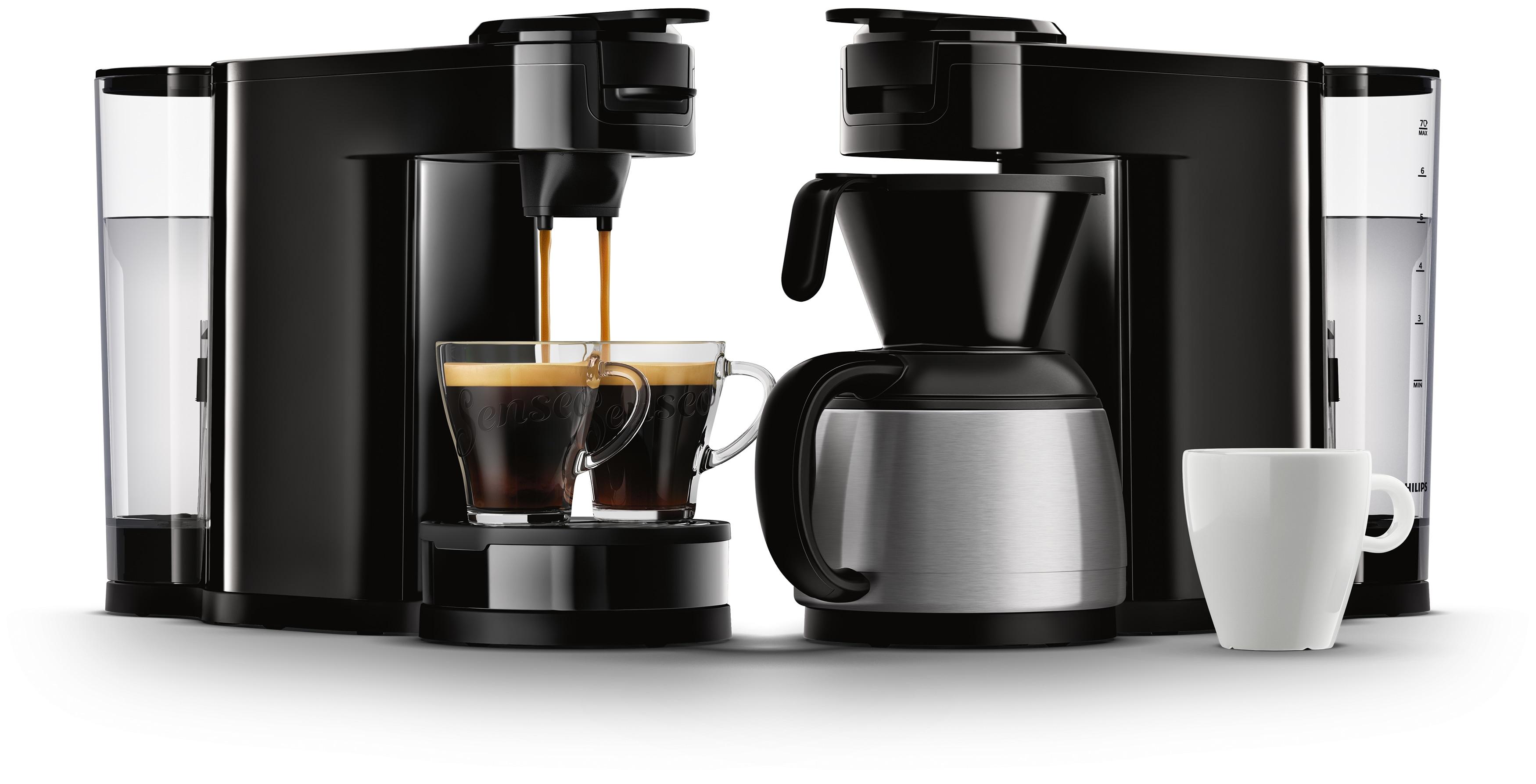 die erste 2 in 1 kaffeemaschine senseo switch f r. Black Bedroom Furniture Sets. Home Design Ideas