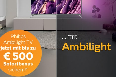 Ambilight Sofortbonus